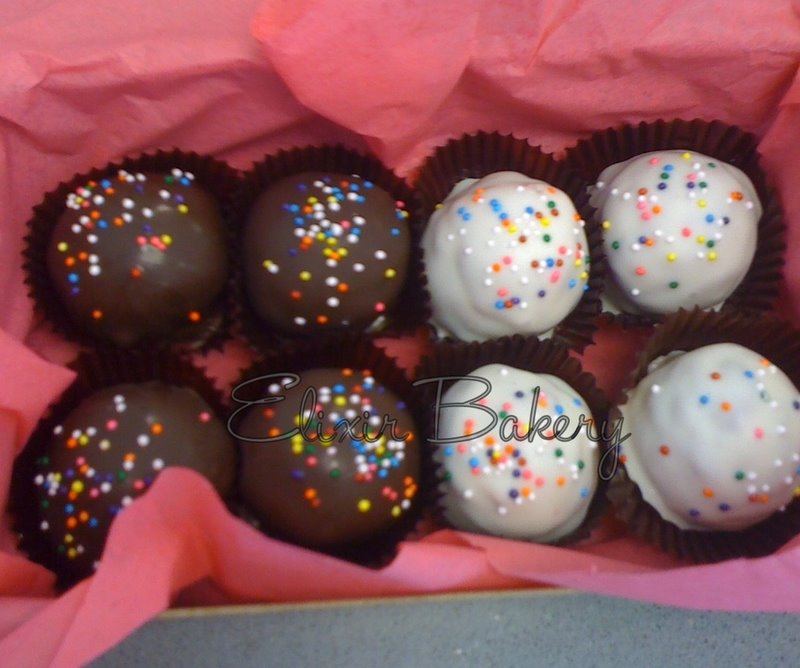 Birthday Cake Balls