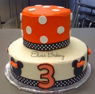 Minnie Fondant and Buttercream