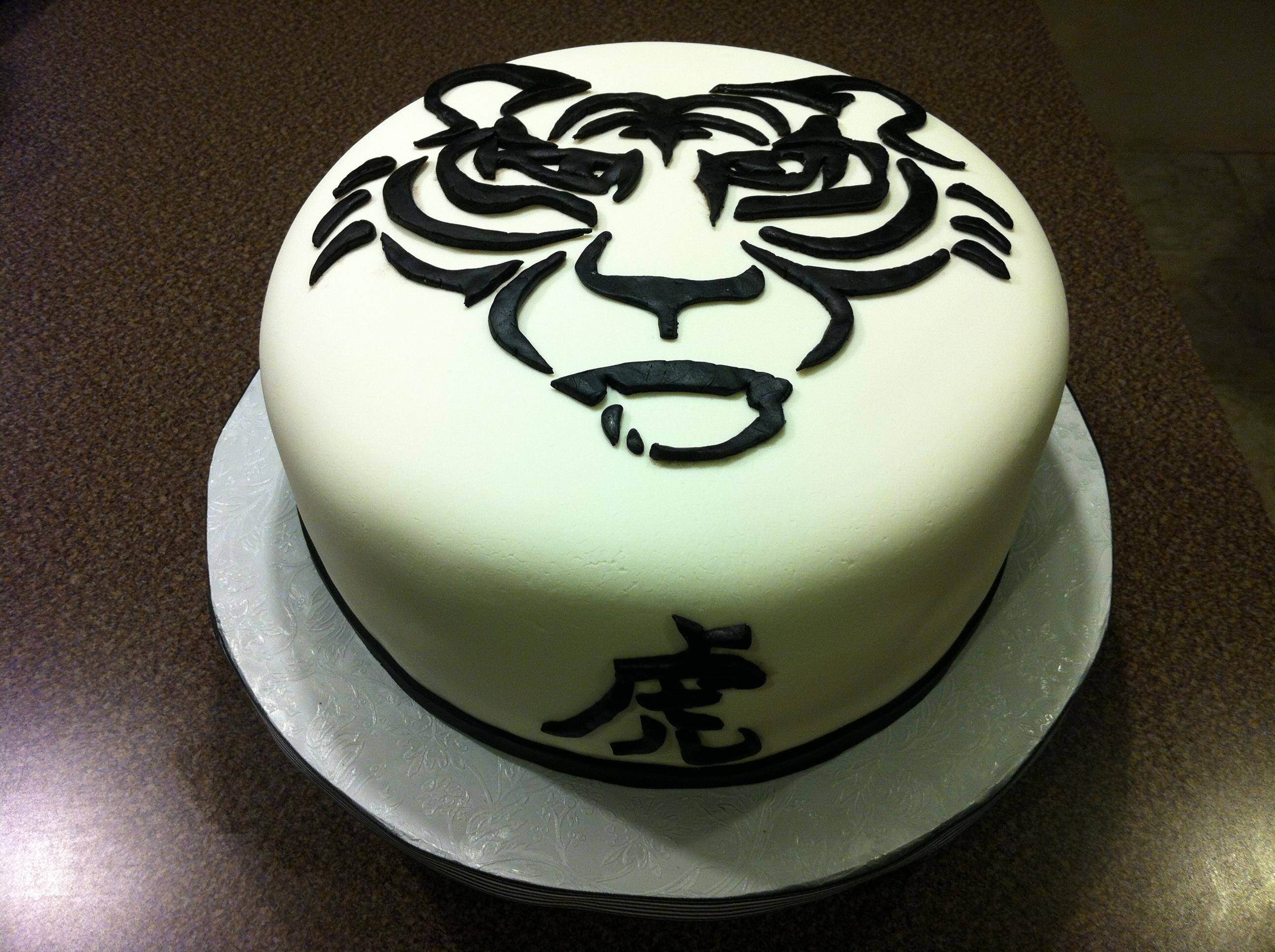 Japanese Tiger Cake