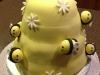 Bee Gender Reveal Cake