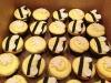 Bee Gender Reveal Cupcakes