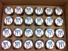 Texas Rangers Cupcakes